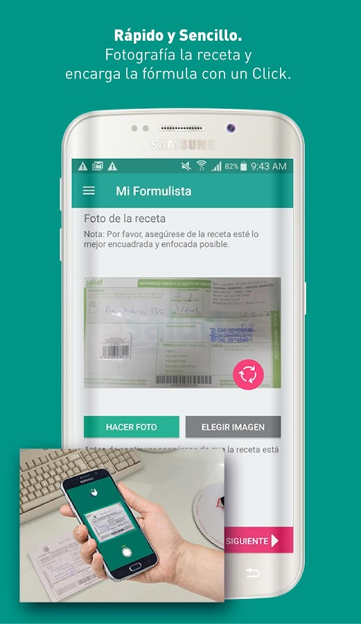 Mi Formulista- screenshot