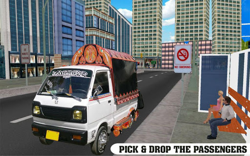 Drive Pickup Van: City Rush