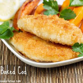 Crispy Baked Cod (tastes fried!)
