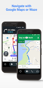 Android Auto – Google Maps, Media & Messaging Mod 3.9.585054 Apk [Unlocked] 2