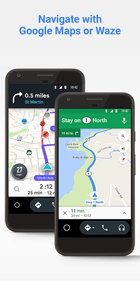 Android Auto - Google Maps, Media & Messaging- screenshot