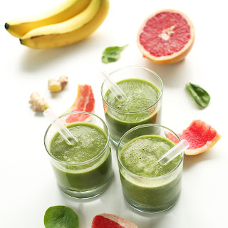 Grapefruit Green Smoothie.