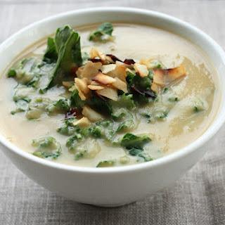Roasted Rutabaga & Parsnip Soup