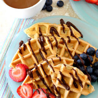 Low Carb Protein Waffles.