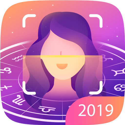 Horoscope S - Face scanner,Palm reader,Aging Icon