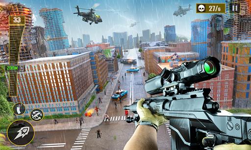 Télécharger gratuit vrai tireur d'élite jeu tir à la première personne APK MOD 2