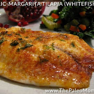 Garlic-Margarita Tilapia (Whitefish) Recipe