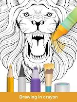 Coloring pages:Animals Mandala - screenshot thumbnail 19