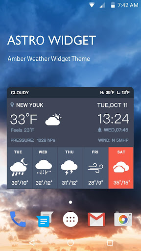 Clock Weather Widget Pro