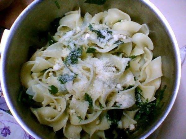 Parmesan Egg Noodles with Parsley