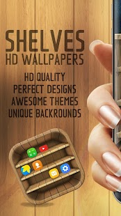 Shelf Backgrounds & Wallpapers - náhled