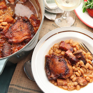 Traditional French Cassoulet.