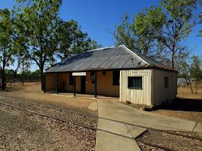 Photo: Alte Bahnstation und Museum (1889) in Pine Creek