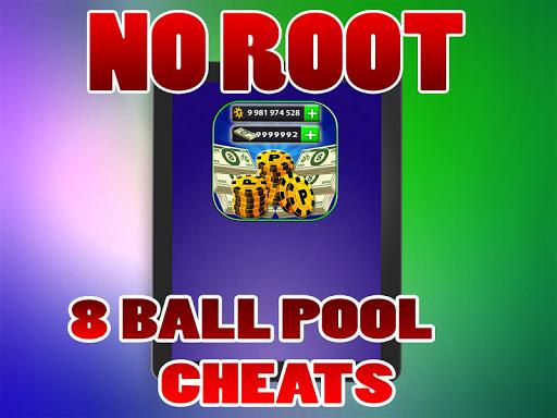 No Root Coins For 8 Ball Pool prank 1.0 screenshots 4