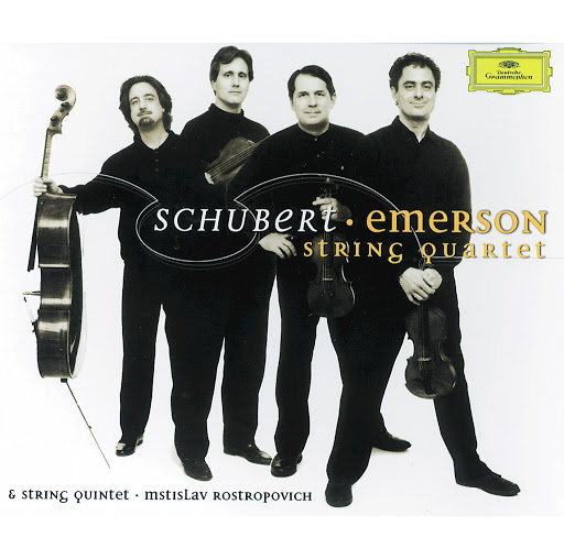 "Schubert: String Quartet No.12 In C Minor, D. 703 ""Quartettsatz"" - Andante - Allegro assai - Emerson String Quartet"