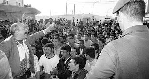 Imagen de El Ejido en sus días críticos de febrero de 2000.