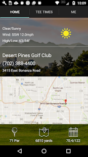 Desert Pines Tee Times- screenshot thumbnail