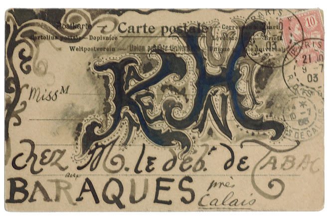 <p> <strong>L&eacute;on Coupey<br /> To Miss Kate Hunt (Baraques)</strong><br /> Ink on card&nbsp;<br /> 3 &frac12;&quot; x&nbsp;5 &frac12;&quot;&nbsp;<br /> 1903</p> <p> Collection Tarek Barbir, London<br /> Estate of Marguerite Coupey Barbir, Montreal<br /> Set 3A.6&nbsp;</p>
