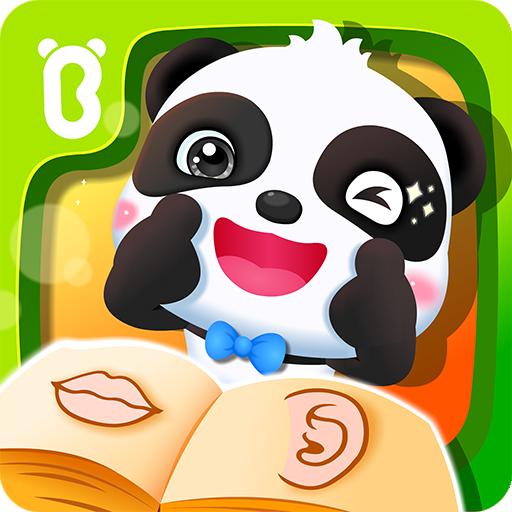 Baby Panda Learns Body Parts