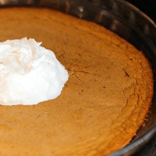 Perfect (Crustless) Protein Pumpkin Pie.