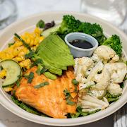 Charred Salmon Bowl
