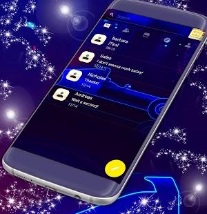 Super SMS Téma - náhled