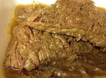 Crockpot Flank Steak