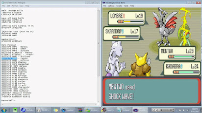 pokemon fire red exp cheat
