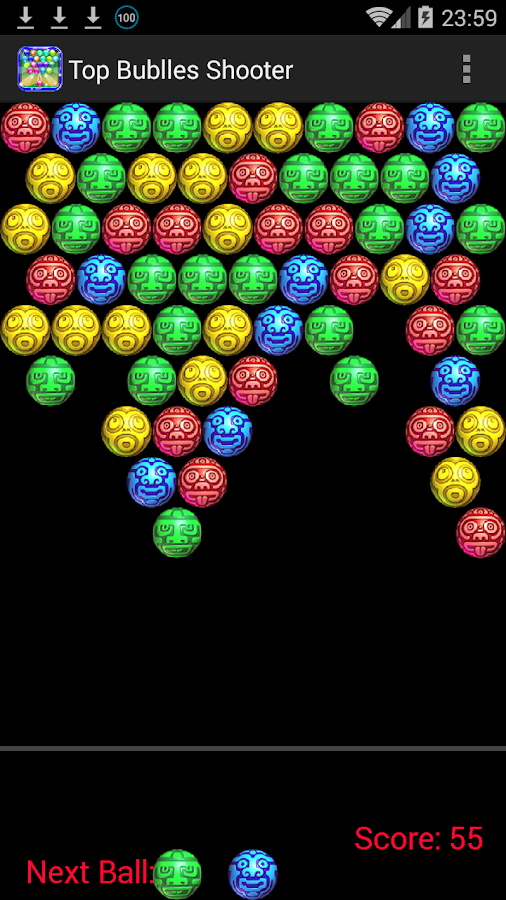 top bubble shooter games