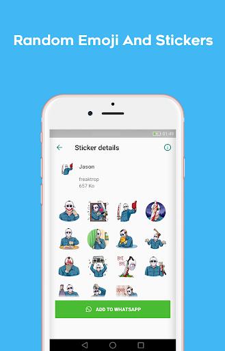 Stickers packs for WhatsApp - WAStickersApps 1.0.18 screenshots 3