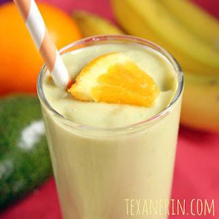 Banana Orange Avocado Smoothie Recipe