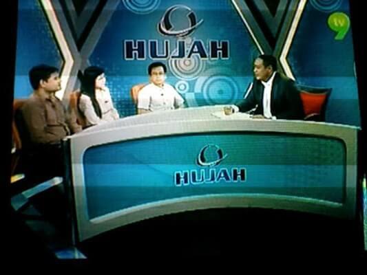 Live on Hujah TV9
