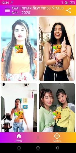 Kwai Hot Video App - Indian Kwai Lite Short Videos 8.7 screenshots 1