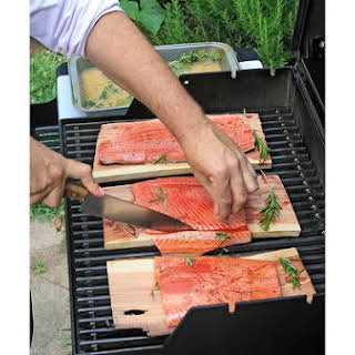 Grilled Rosemary Salmon.