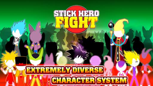 Stick Hero Fight - Super Dragon Battle Tournament  captures d'écran 1