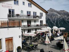 Photo: Wunderschöne Terrasse im Berghaus