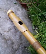 Photo: Detalle de sobreembocadura realizada en bambú