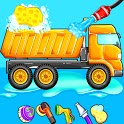 Truck Wash Games For Kids - Car Wash Game icon