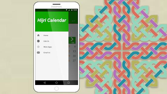 Hijri Calendar Widget - náhled