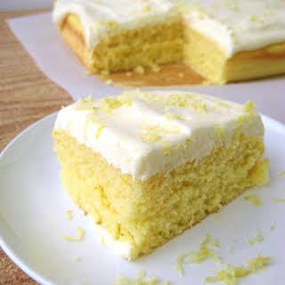 Dreamy Lemon Cake.