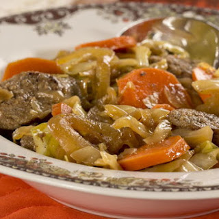 Cabbage Lover's Turkey Sausage Stew