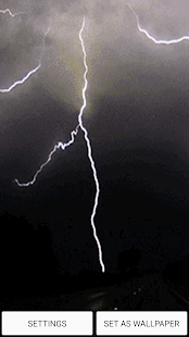 Bouřka Zvuk Živé Tapety - náhled