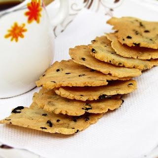 Homemade Rice Cracker with Nori Recipe