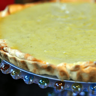 Ina's Lime Curd Tart.