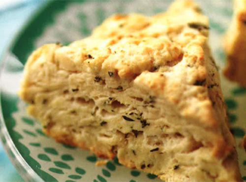 Honey-walnut And Butter Scones Recipe