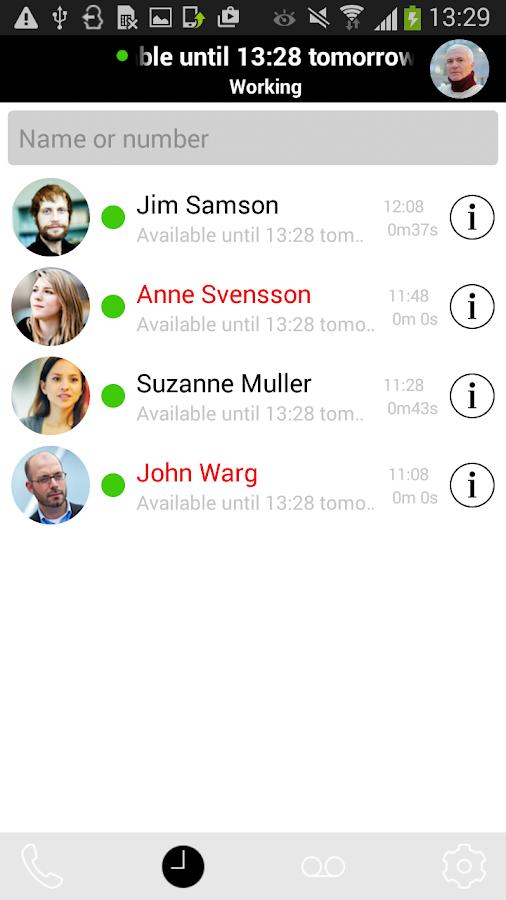 Qall- screenshot