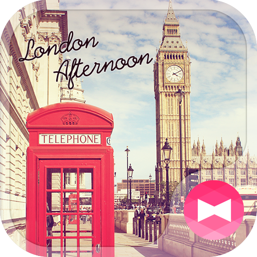 Cute Theme-London Afternoon- Icon