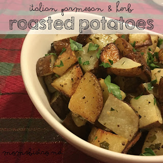 A Simple Side Dish Everyone Will Love – Easy Parmesan and Herb Roasted Potatoes Recipe