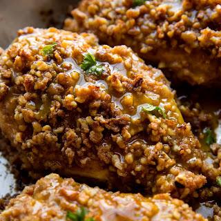 Walnut Crusted Chicken Recipe