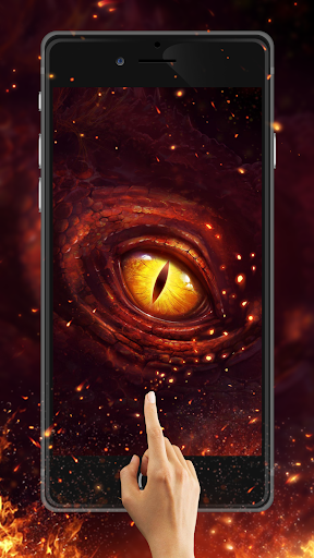 Live wallpaper android free eye